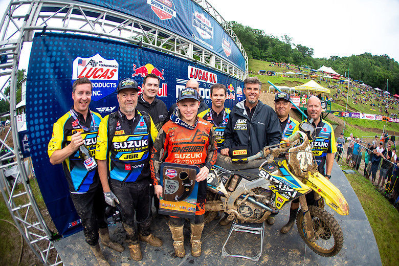 Alex Martin Charges to Podium Finish with SCORPION™ MX Tires in Front of Home Crowd at Spring Creek