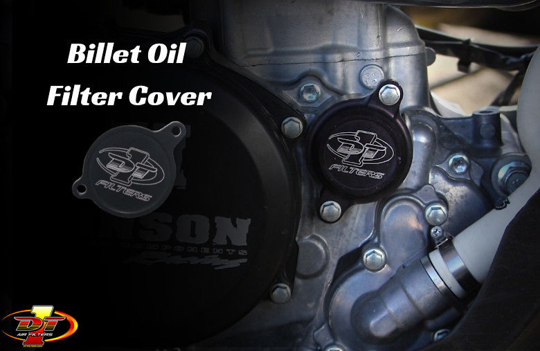 DT-1 Filters - Billet Oil Filter Cover