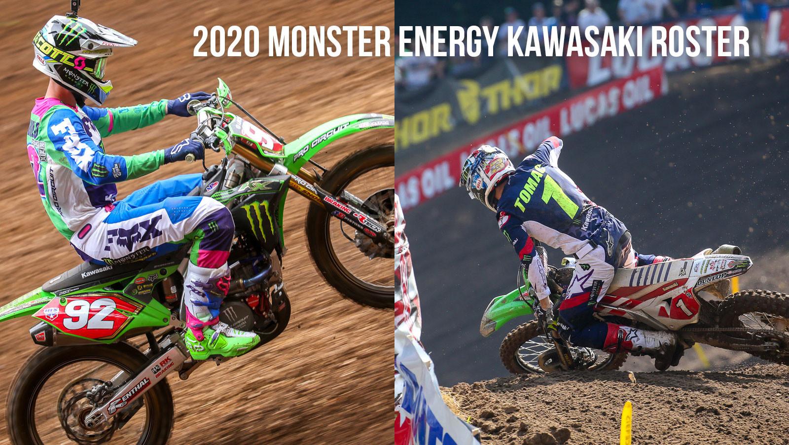 Monster Energy Kawasaki Announces 2020 Roster