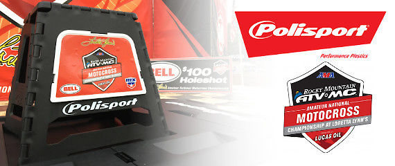Polisport Plastics - Proud Sponsor of the AMA Amateur National Motocross Championship