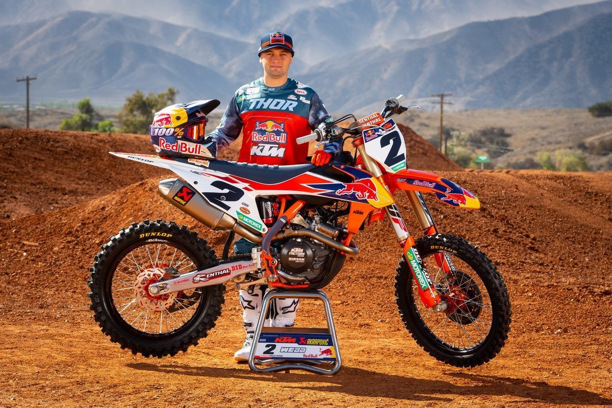 COOPER WEBB CONFIRMED TO MISS REMAINDER OF 2019 PRO MOTOCROSS CHAMPIONSHIP