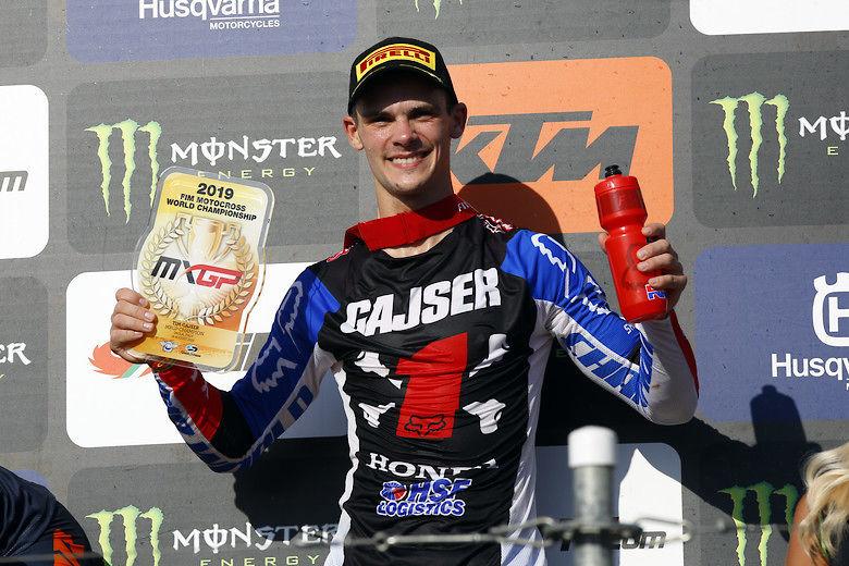 Pirelli Celebrates 2019 MXGP Motocross World Title with Tim Gajser