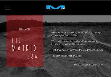 MATRIX CONCEPTS LAUNCHES NEW WEBSITE