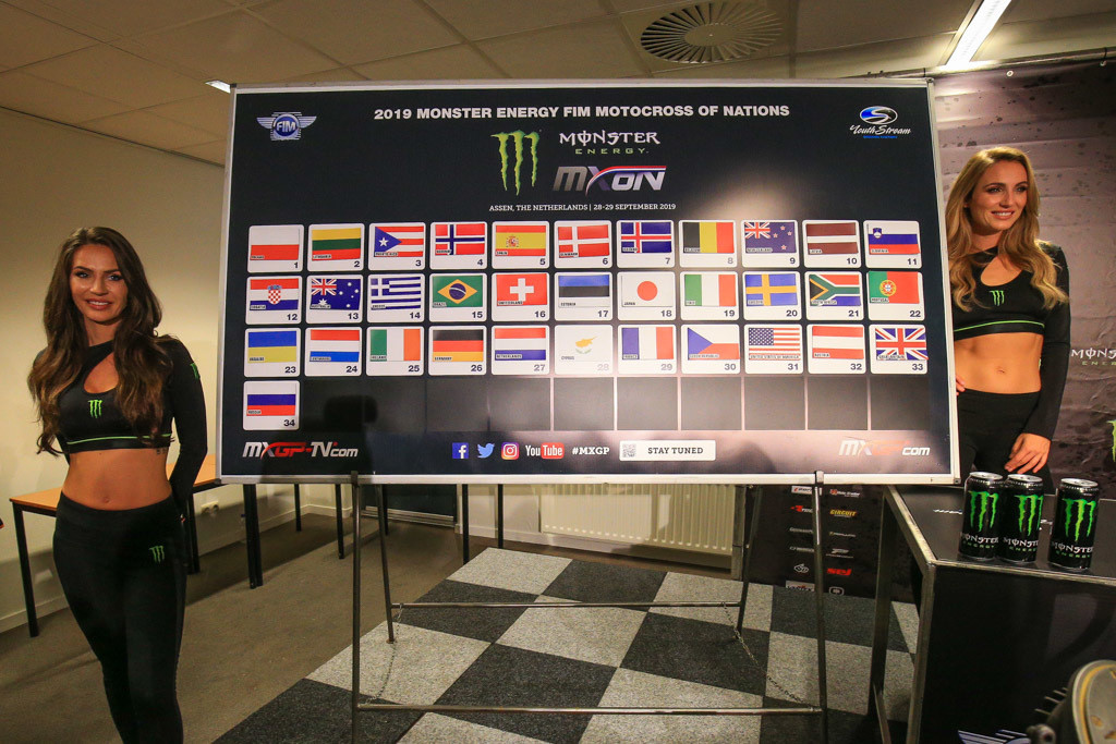 2019 Motocross of Nations - Qualifying Races Gate Picks Determined