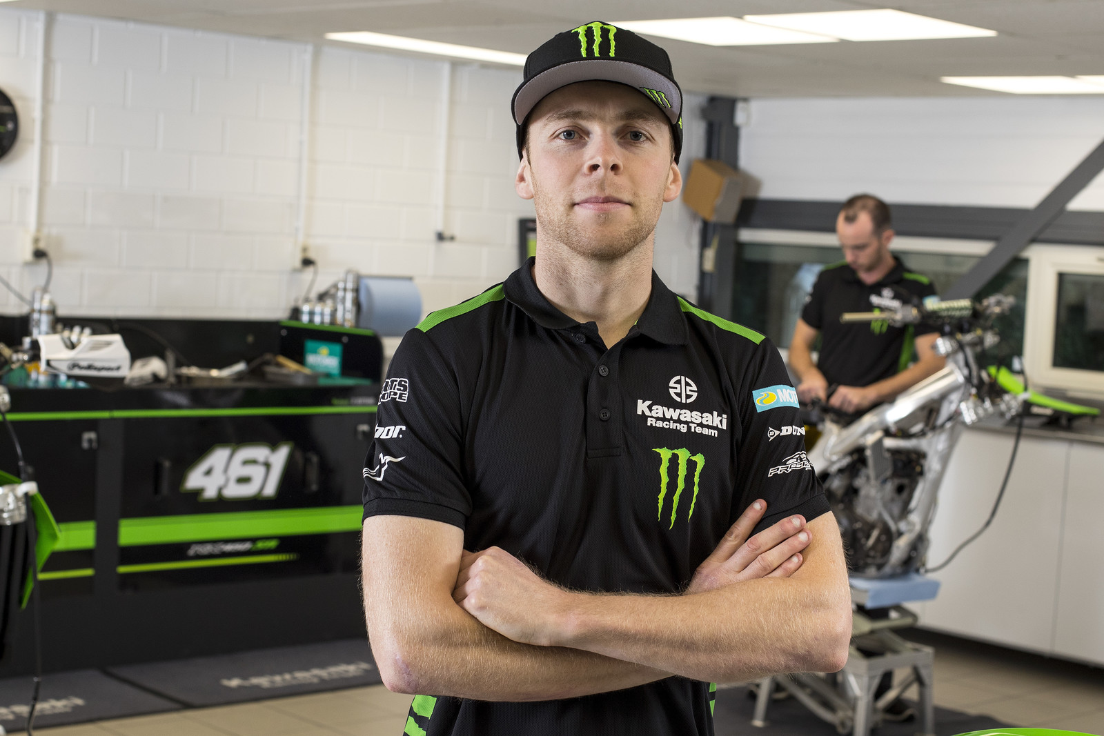 Romain Febvre Signs with Monster Energy Kawasaki MXGP