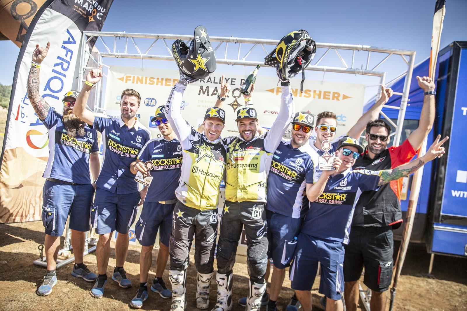 Andrew Short Wins 2019 Rally Du Maroc