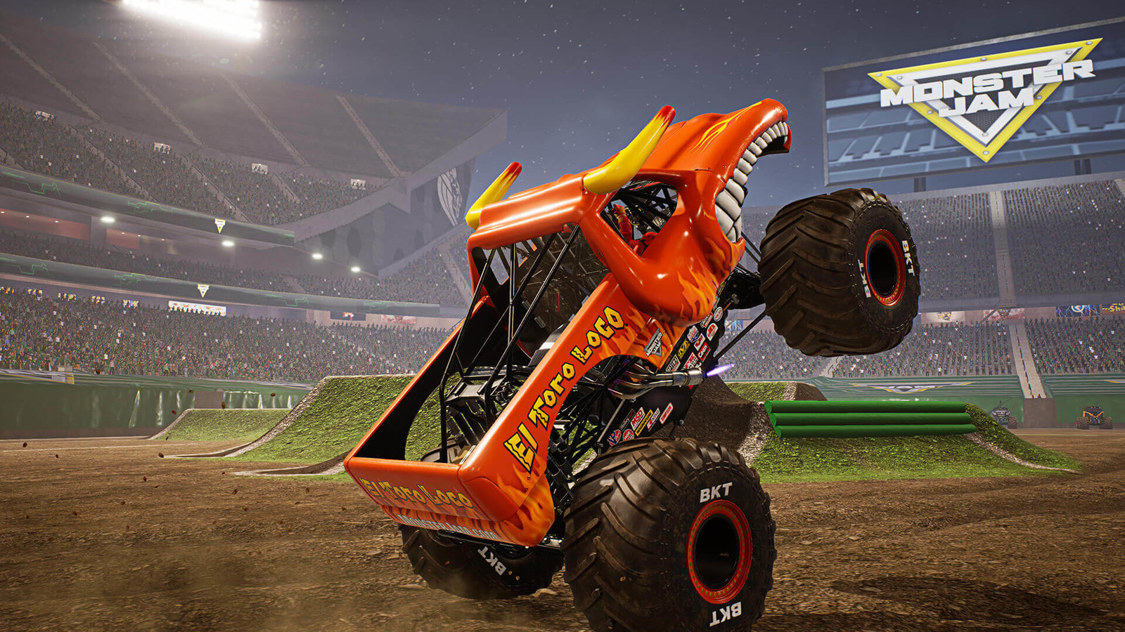 THQ Nordic and Feld Entertainment Launch Monster Jam Steel Titans for the Nintendo Switch