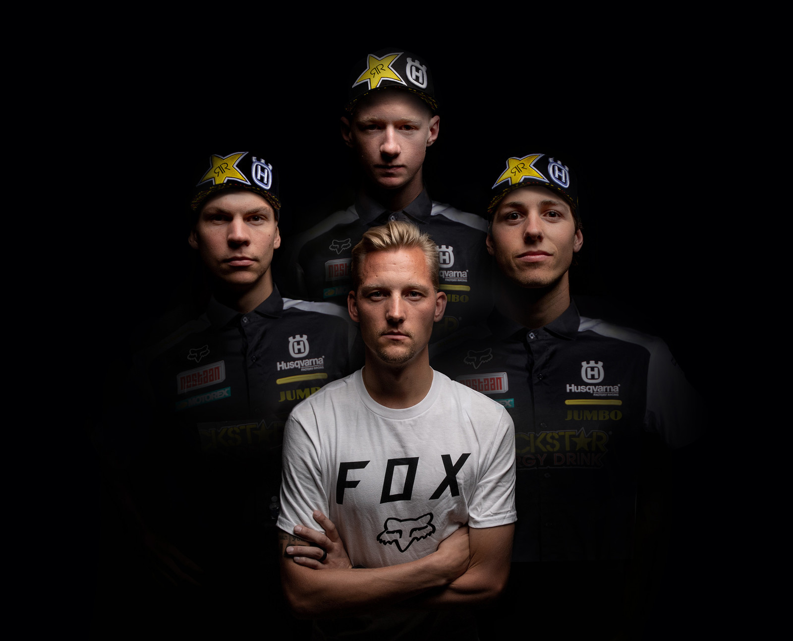 Fox Racing Welcomes Rockstar Energy Husqvarna MX2 Team to the Family