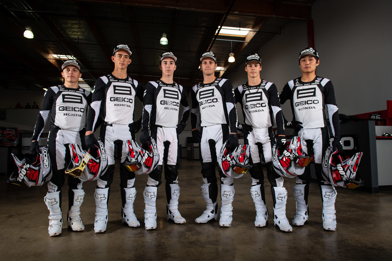 GEICO Honda Team to Wear Fox Instinct Boot for 2020 and Beyond