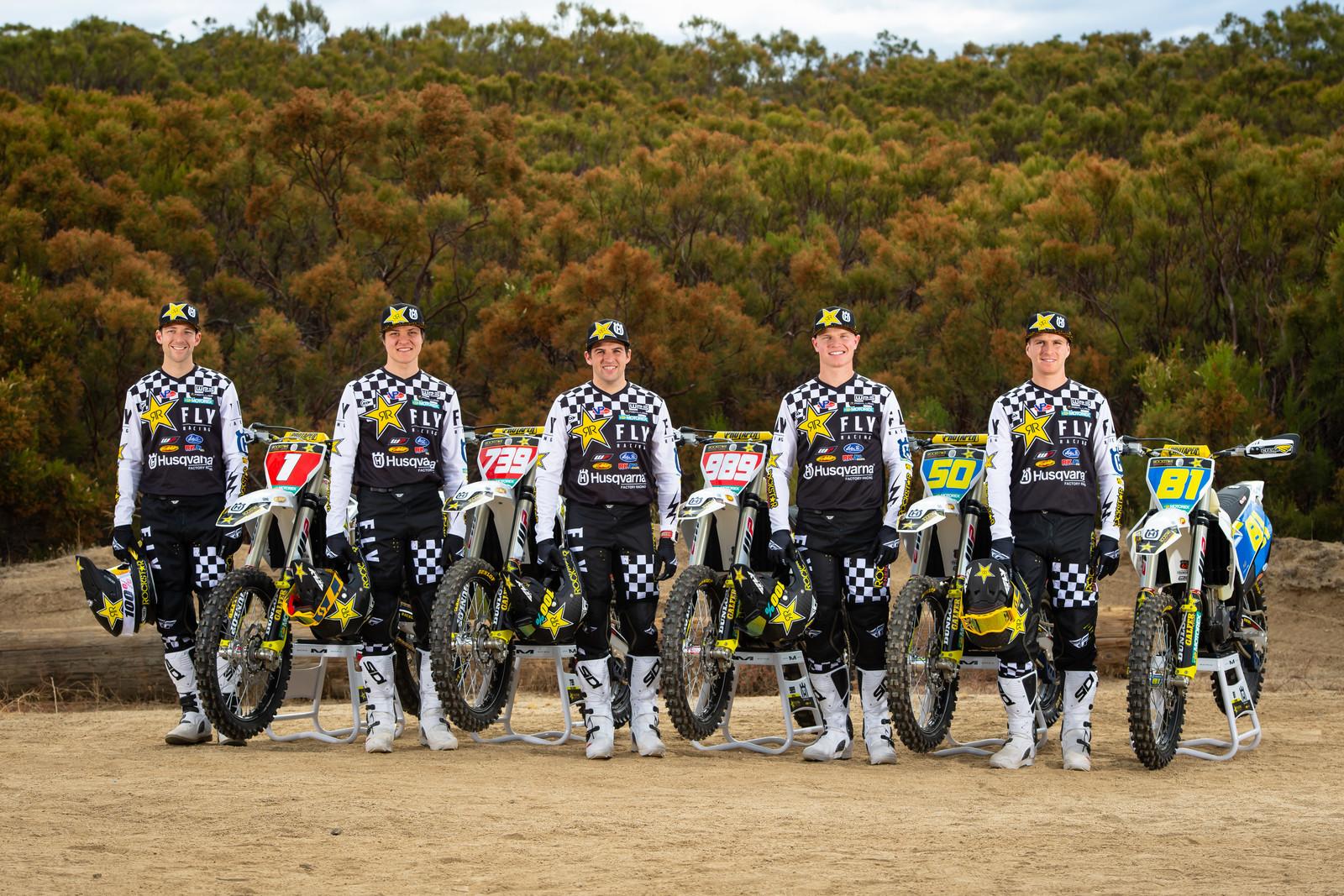 Rockstar Energy Husqvarna Factory Racing 2020 Off-Road Team Announced