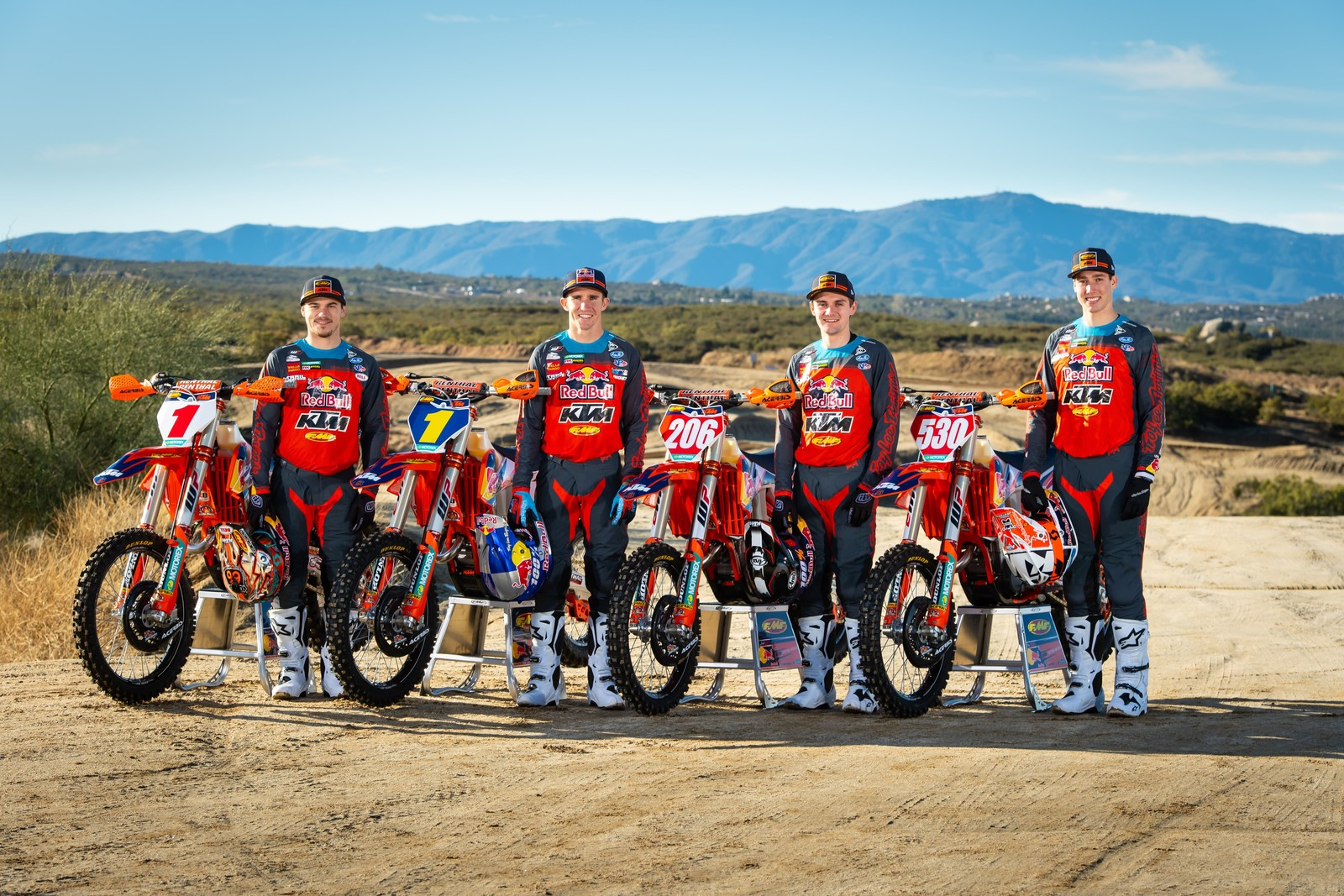 FMF KTM Factory Racing Announces 2020 Off-Road Rider Lineup
