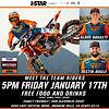 Meet Team RMATVMC/KTM-WPS at JStar this Friday Jan.17th!
