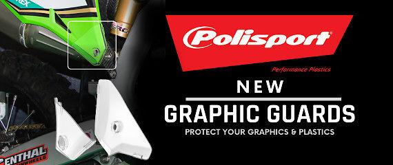 Polisport Plastics - NEW Graphic Guards