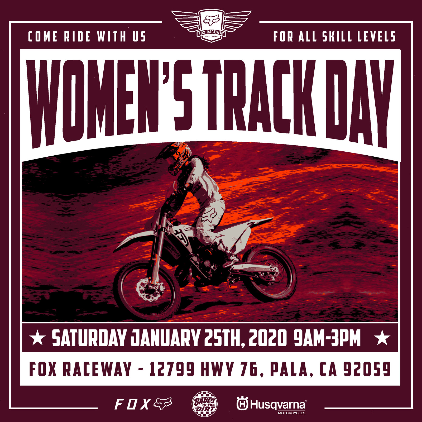 Fox Womens x Babes in the Dirt - 2nd Annual Track Day at Fox Raceway