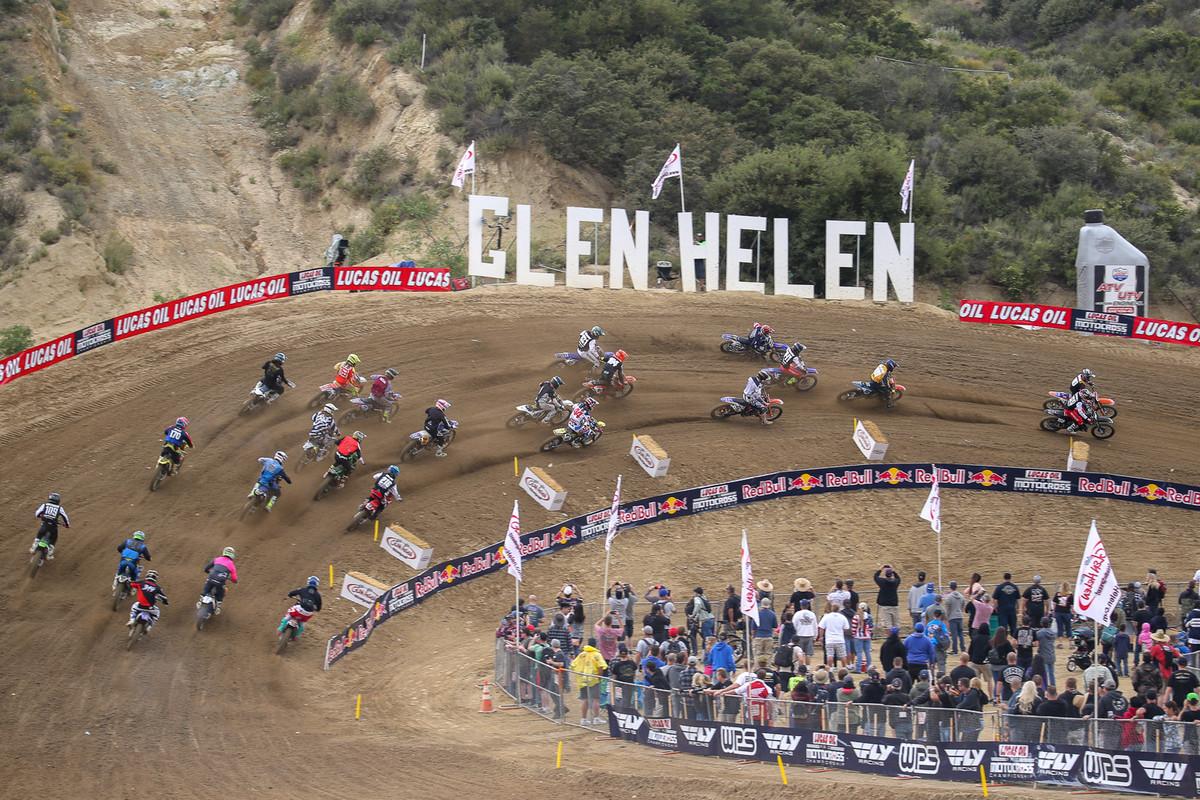 Glen Helen Closed Until April 3rd