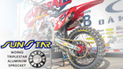 Sunstar Sprockets - Honda Works Triplestar Aluminum Rear Sprocket