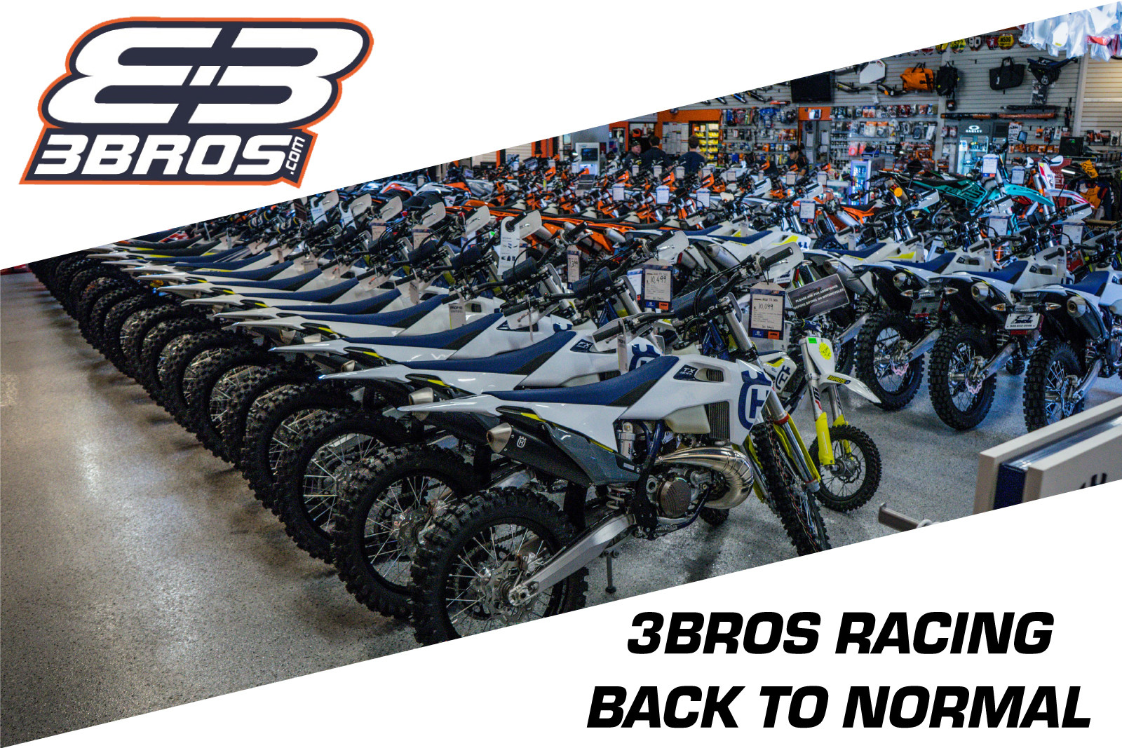 3 Brothers Racing: Back To Normal