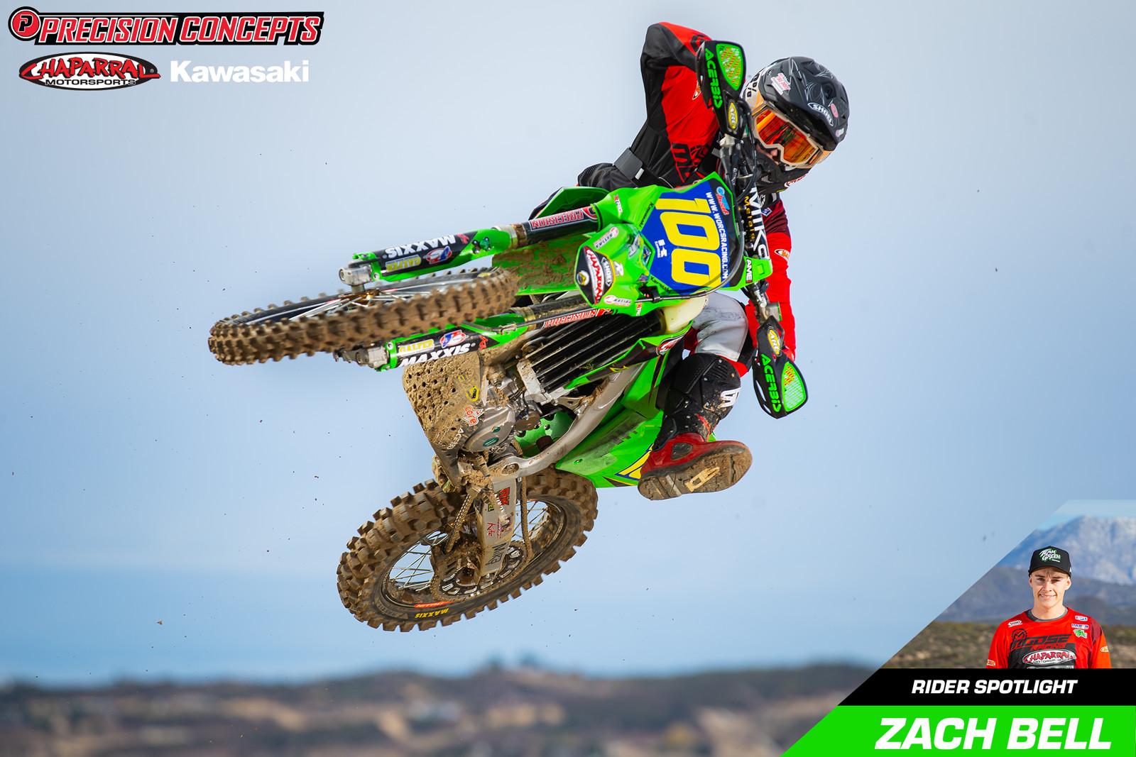 Precision Concepts Race Team Rider Spotlight: Zach Bell