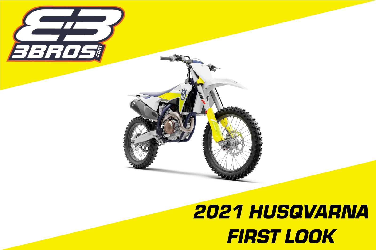 3BROS Racing: 2021 Husqvarna's Now In-Stock