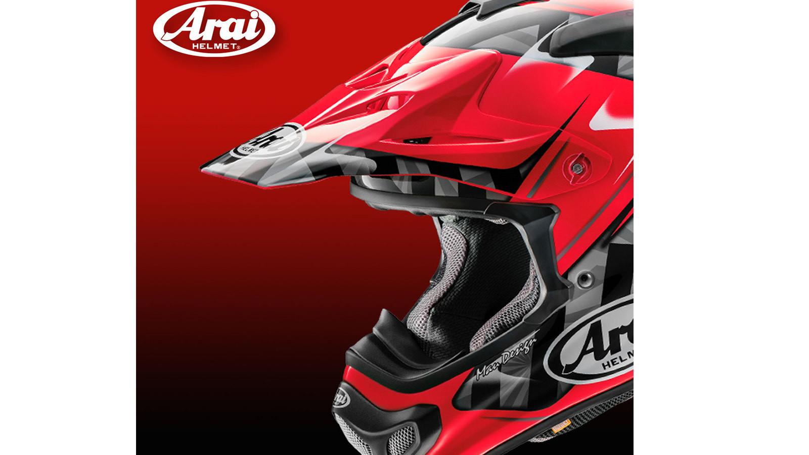 Arai Releases New Scoop Graphic VX-PRO4 Helmet