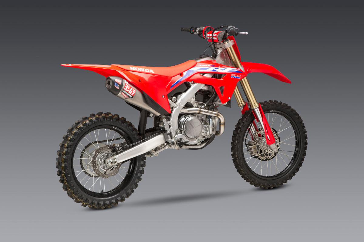 The All-New 2021 Honda CRF450 Yoshimura Exhaust Systems Are Here!