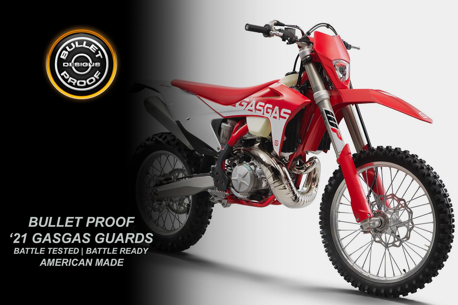Bullet Proof Designs: 2021 GASGAS Guards