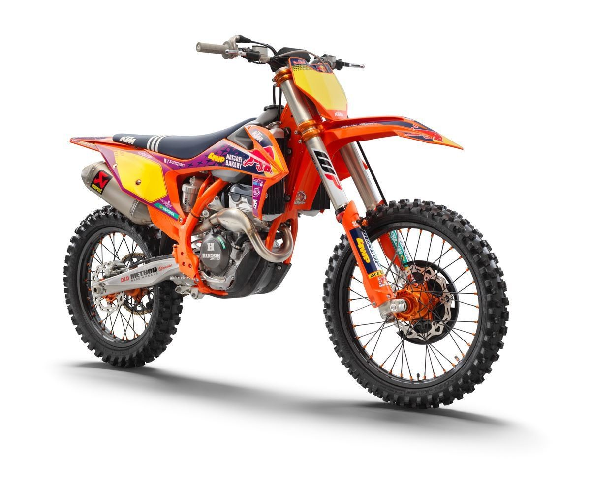 2021 KTM 250 SX-F Troy Lee Designs Factory Edition