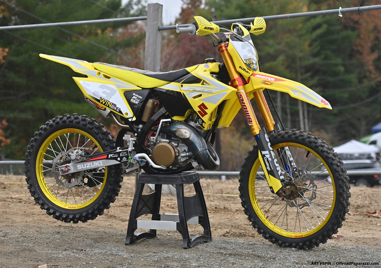 STS Motorsports Builds Unique RM 125...And It Can Be Yours!