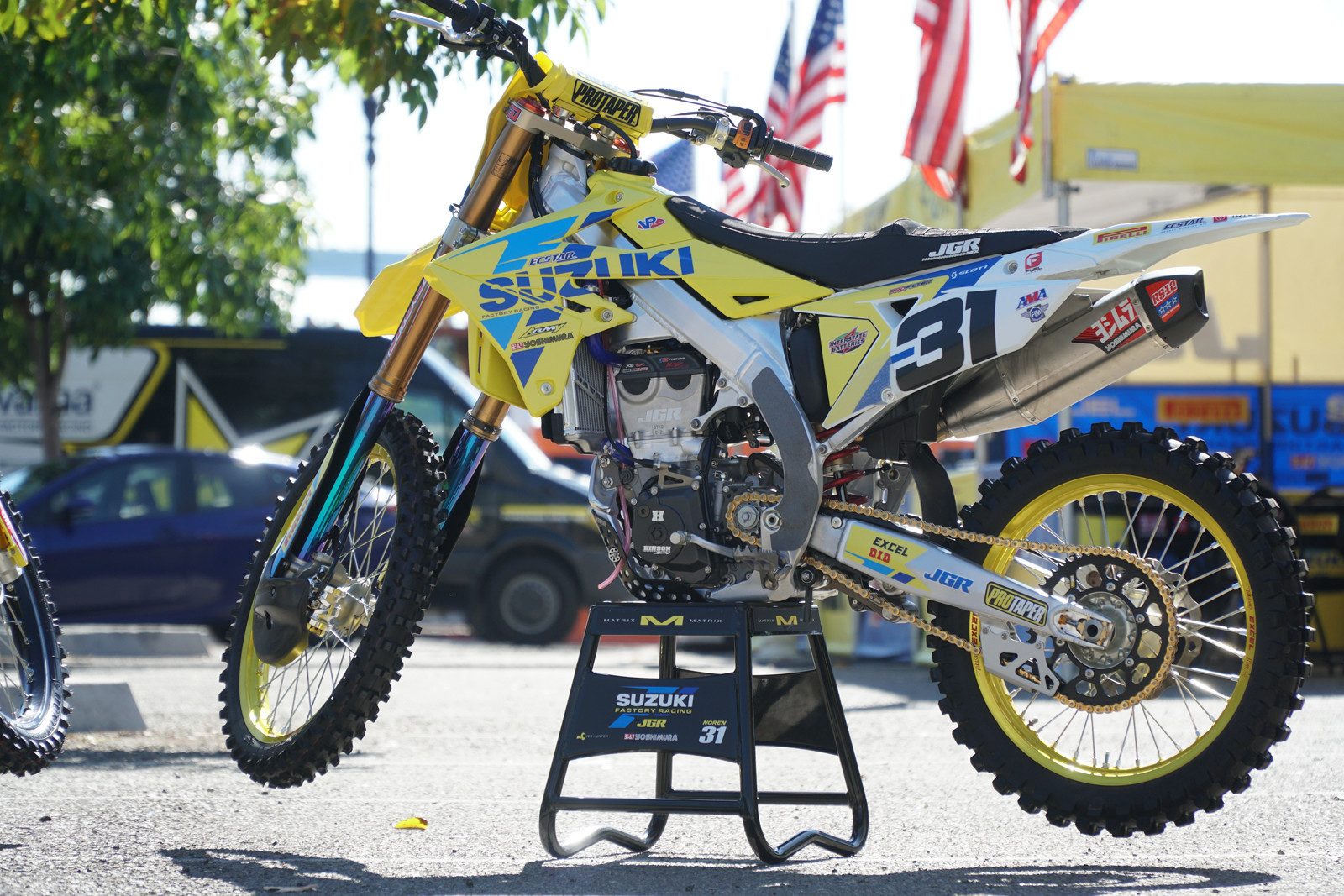 Suzuki Motor of America, Inc. Concludes Racing Partnership with JGRMX