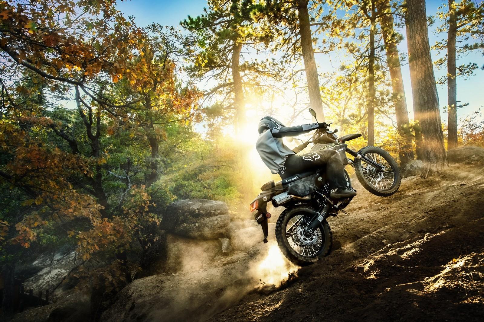 Kawasaki Announces 2021 KLX300 and KLX300SM
