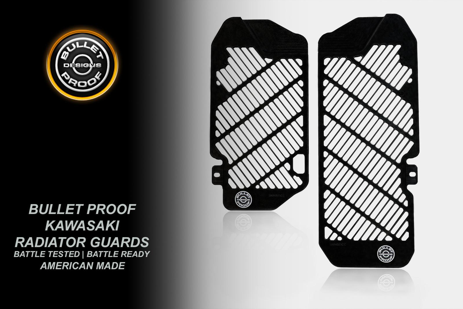 Bullet Proof Designs: 2021 Kawasaki Guards