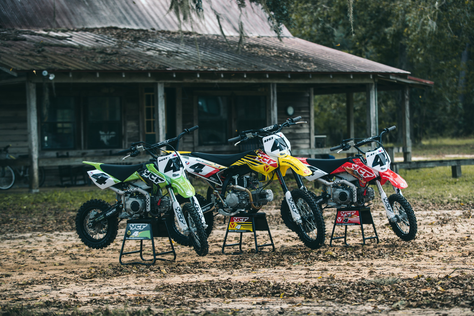 YCF Bikes: Ricky Carmichael and Son Ride Together!