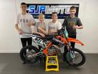 SJP Moto unveils KTM team