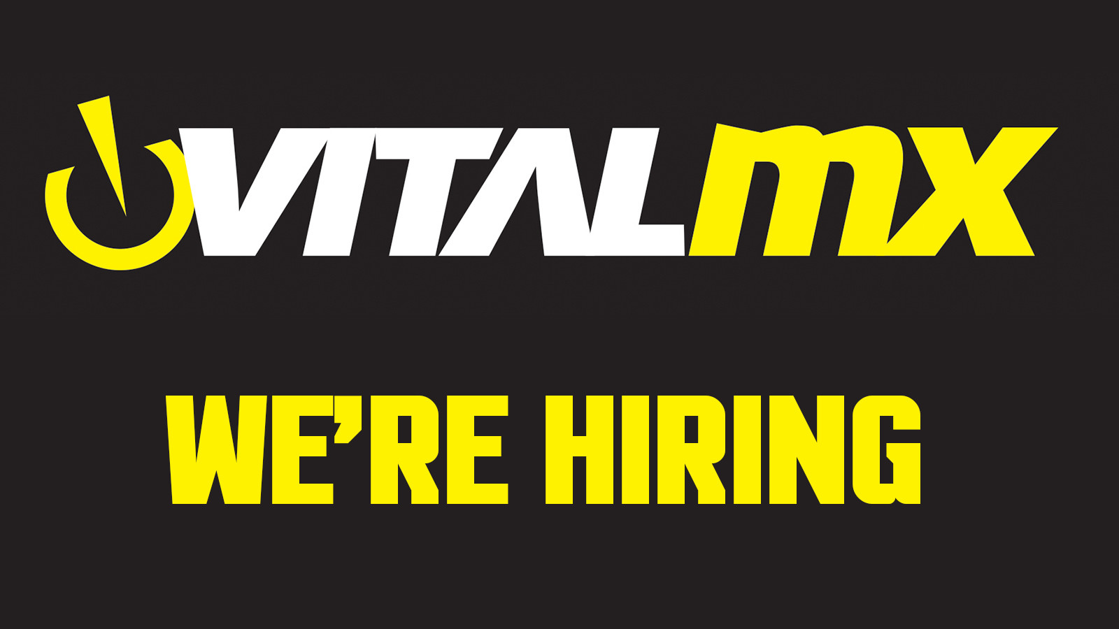 We're Hiring! Vital MX and Vital MTB Sales Representative