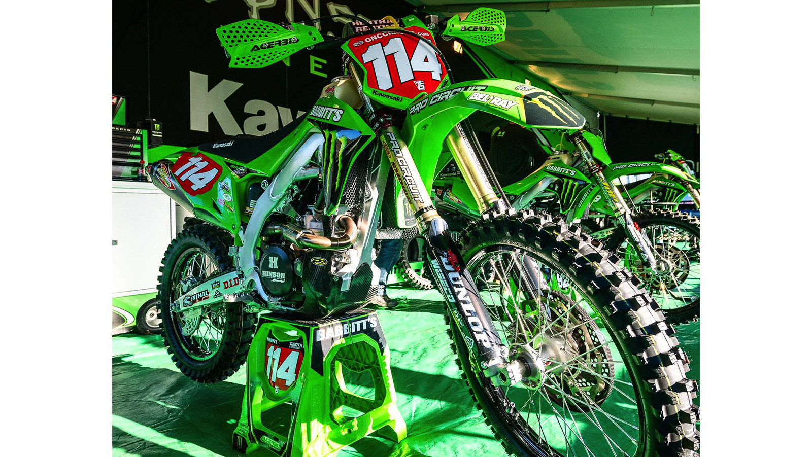 Bel-Ray Named Official Sponsor of Team Babbitt's Monster Energy Kawasaki