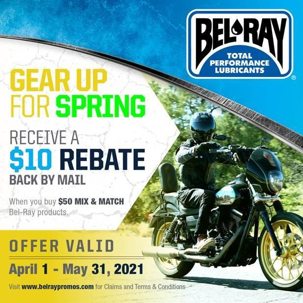 Bel-Ray: Gear Up for Spring