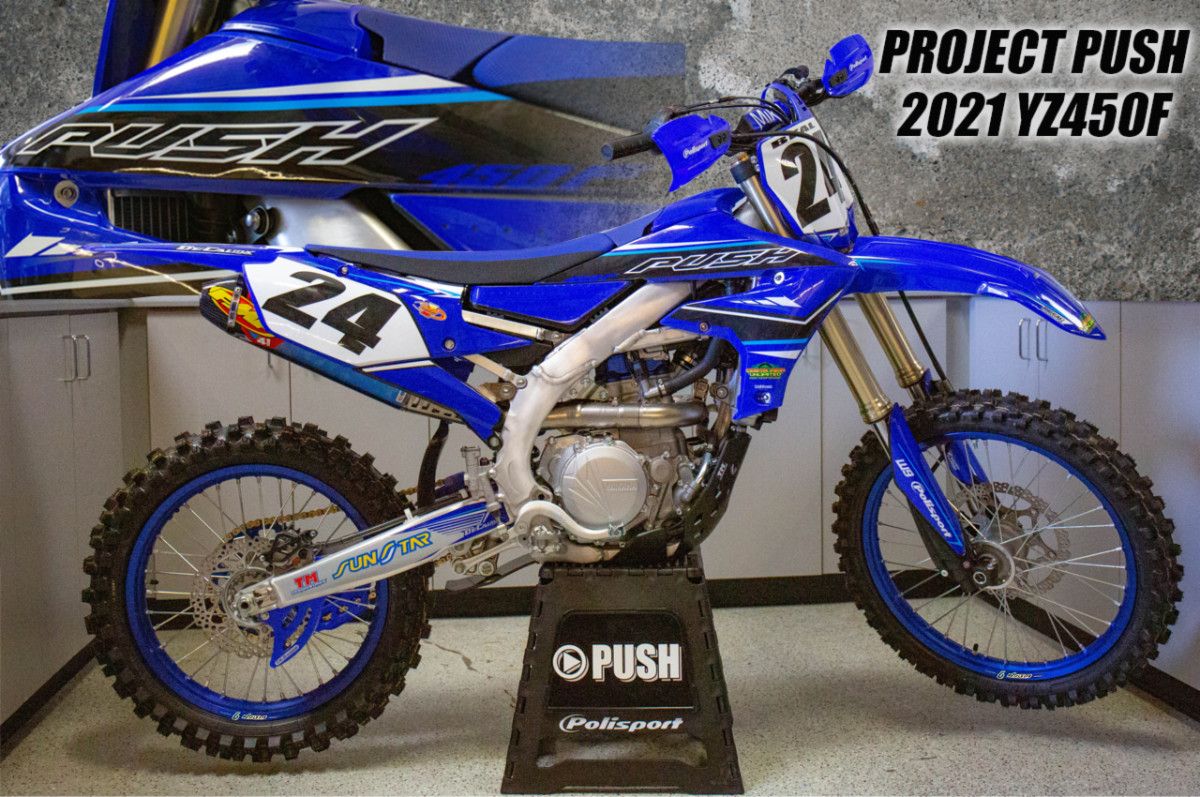 Push Marketing: YZ450F Project Bike