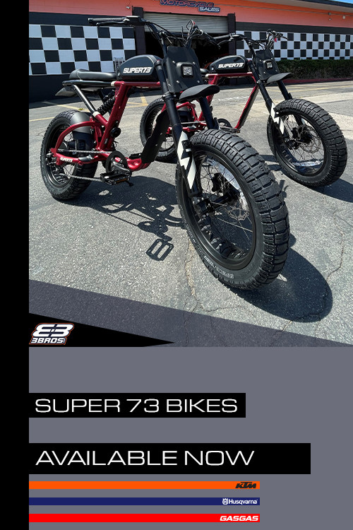 3 Brothers Racing: Super73 Electric Bikes Available Now