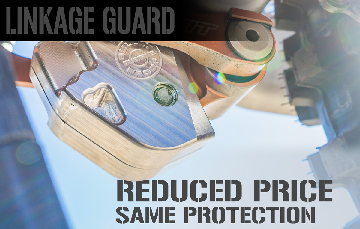 Bullet Proof Designs: Linkage Guard Reduced Price