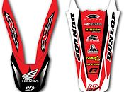 N-Style Front & Rear Fender Decal Combo Sale