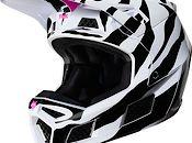 2019 Fox Racing V3 Zebra LE Helmet