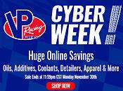 VP Racing Fuels Cyber Week