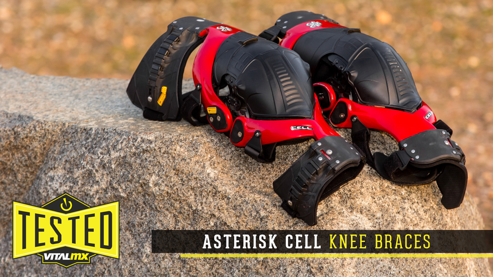 Tested: Asterisk Cell Knee Braces