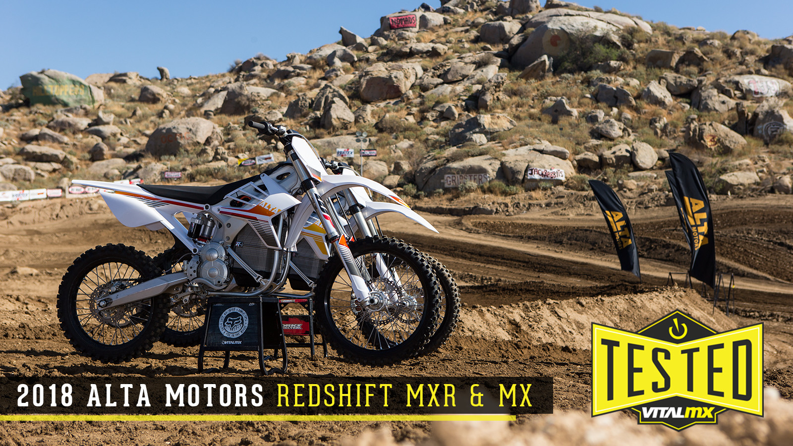 First Impressions: 2018 Alta Motors Redshift MXR and MX