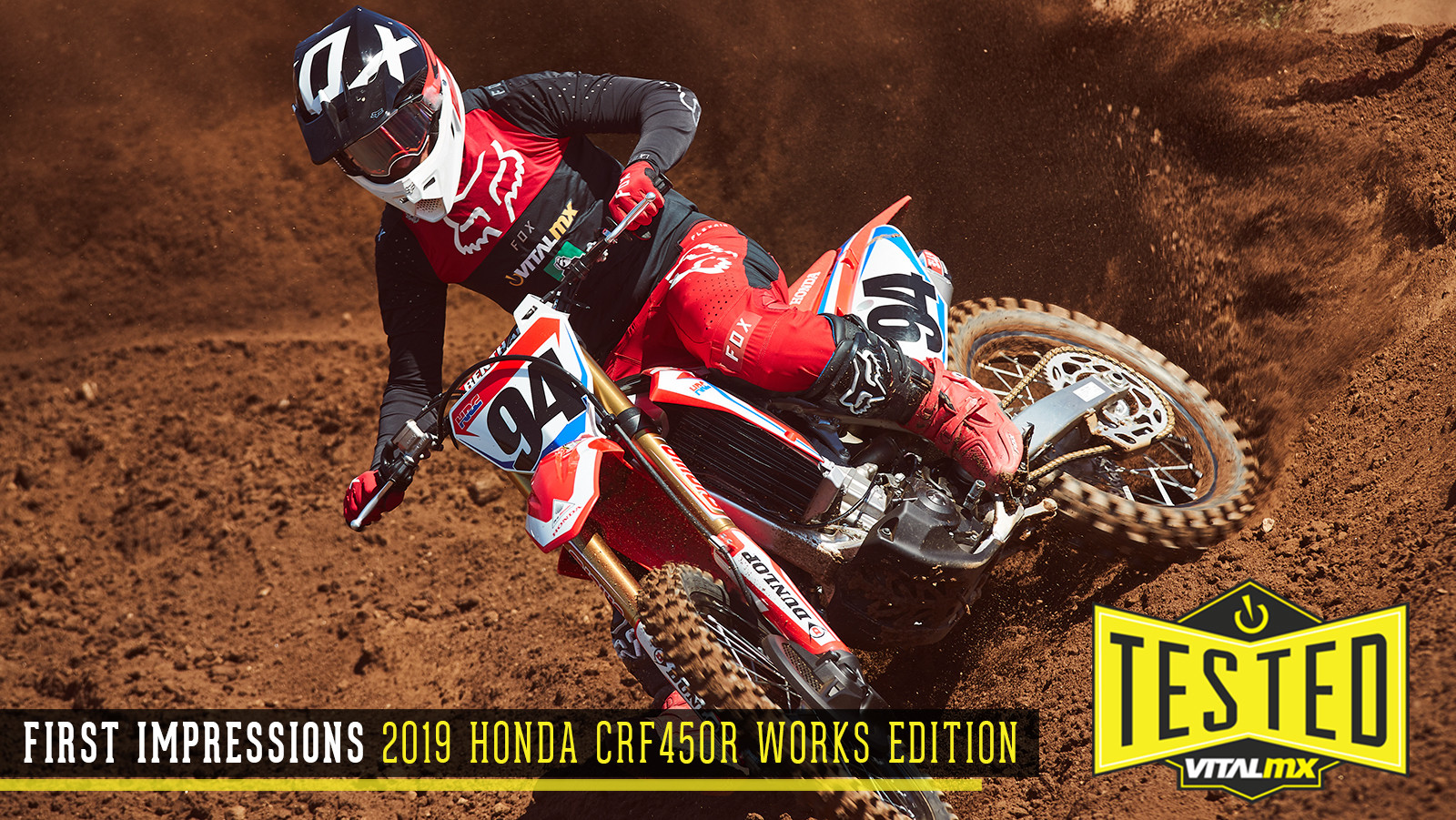 First Impressions: 2019 Honda CRF450R Works Edition