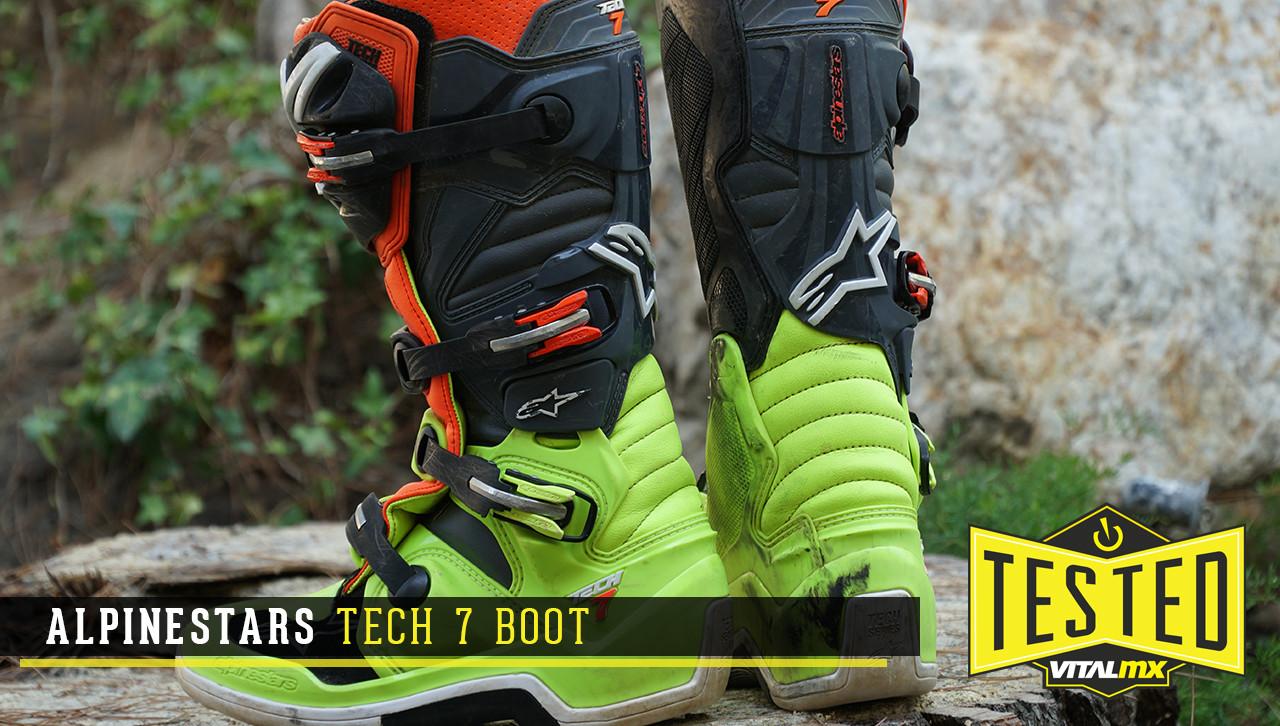 Alpinestars Tech 7 Boots Reviews, Comparisons, Specs