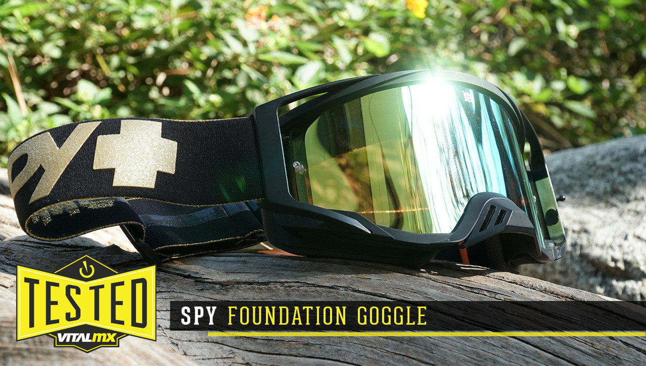 Tested: Spy Foundation Goggle