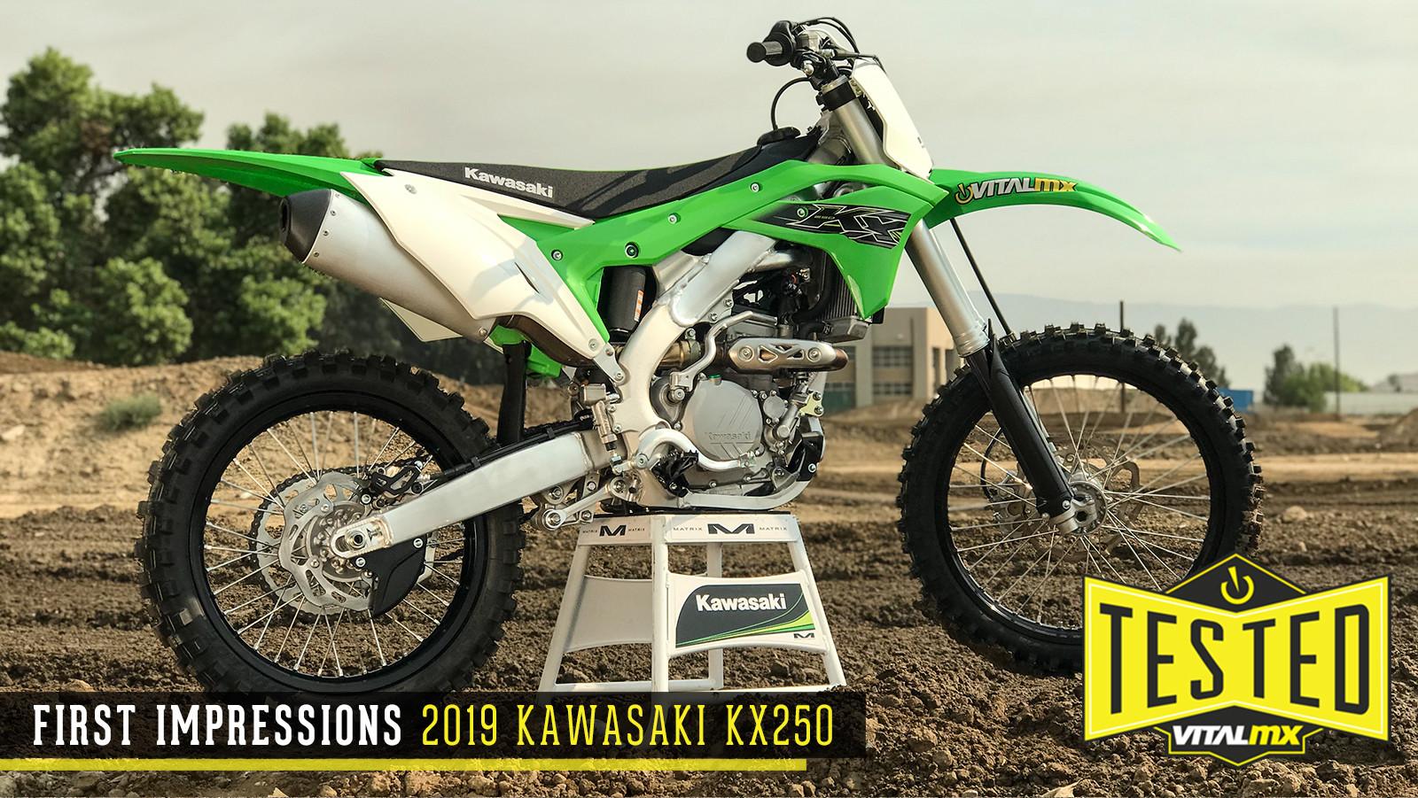 First Impressions: 2019 Kawasaki KX250