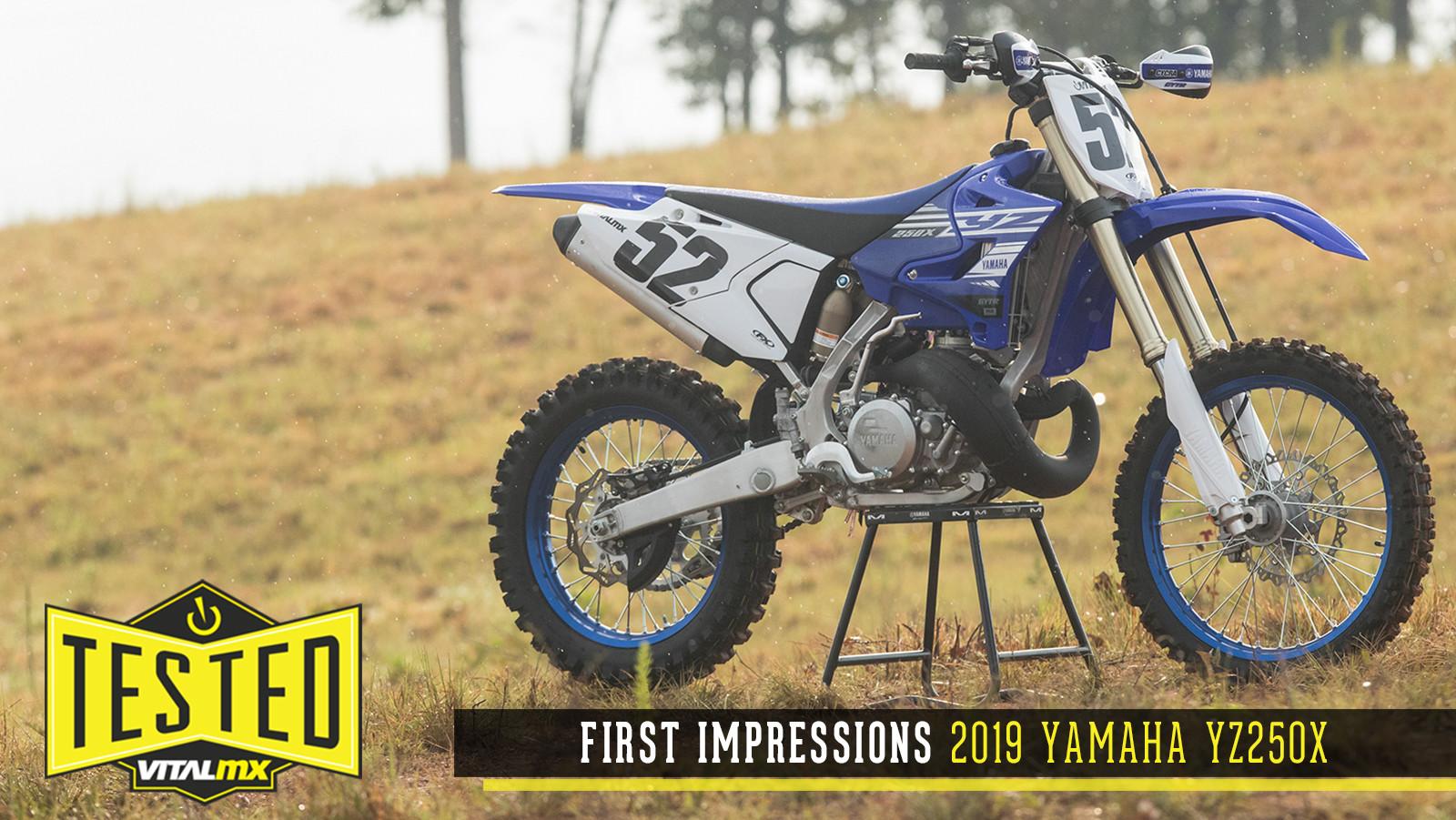First Impressions: 2019 Yamaha YZ250X