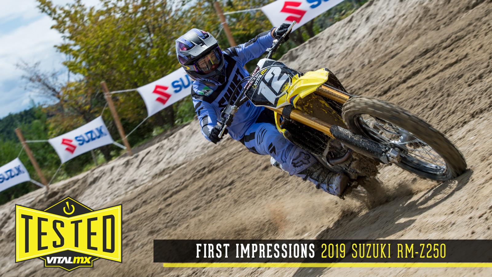 First Impressions: 2019 Suzuki RM-Z250